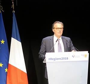 """Le président de Région Sud a jugé bon de communiquer """"Nous sommes la Provence"""" (photo MN)"""