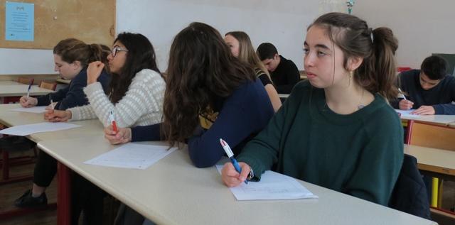 Dans l'Académie de Nice, environ 12% des établissements du secondaire proposent un cours d'occitan, surtout dans les Alpes-Maritimes (photo MN)