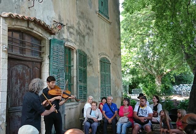 Bastide Marin à La Ciotat. Ici lors du Fest'Aquí de juin 2018 (photo MN)