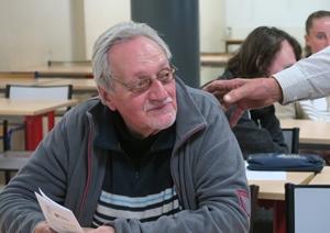 Jean-Claude Babois donnera une mini-conférence sur les mathématiciens d'expression occitane (photo MN)