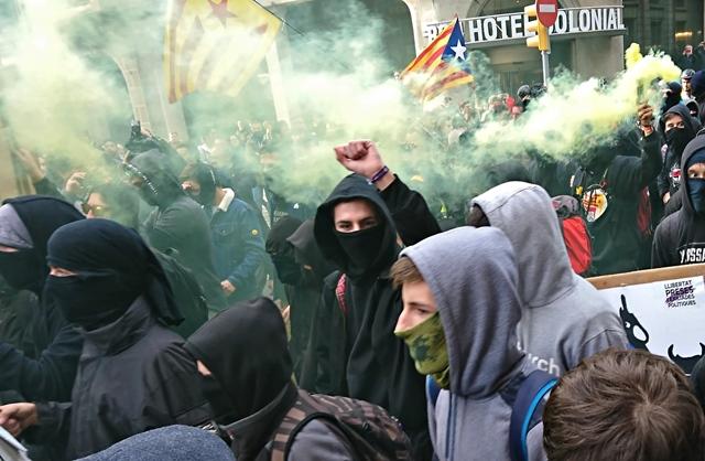 La législation espagnole anti-terrorisme islamiste est en réalité appliquée aux indépendantistes catalans (photo MN)