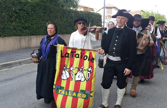 L'association aux fêtes de Saint-Bonnet (photo XDR)