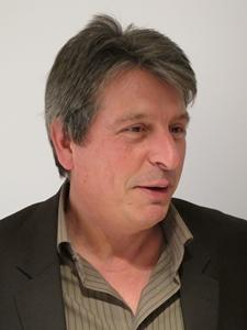 """David Grosclaude : """"les élus basques assurent la dignité de l'occitan, alors que nous devons la réclamer des élus occitans eux-mêmes"""" (photo MN)"""