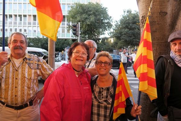Septembre 2018, manifestants de Bédarrides à Marseille : 'Ni Sud ni Paca', pour eux, mais Provence (photo MN)