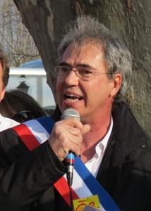 Elu Aixois Hervé Guerrera a lancé la pétition Ni Sud ni Paca fin 2017. A ce jour elle dépasse 34 000 signataires(photo MN)