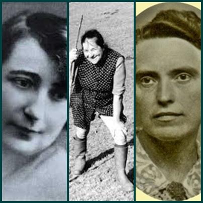 Louisa Paulin, Marcelle Delpastre, Rose Salle, créer et chanter au féminin...et généralement partir avec quelques handicaps (photo XDR)
