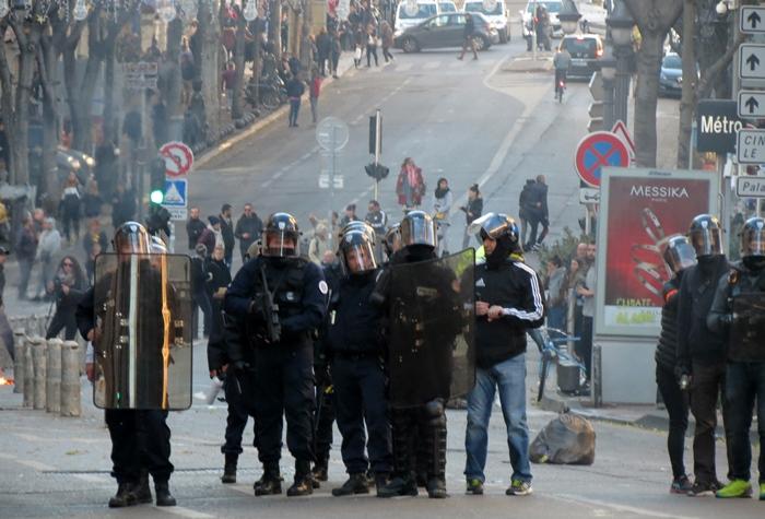 Un million d'euros pour les policiers blessés, la répartition se sera faite avec l'avis des fondations Jean Moulin, Louis Lépine, Maison de la Gendarmerie, et l'Amicale de la Police nationale (photo MN)