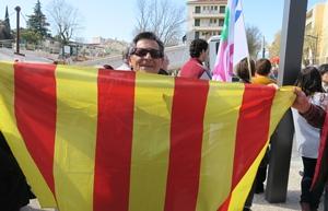 Manifestation le 20 mars dernier au Rectorat d'Aix-Marseille (photo MN)