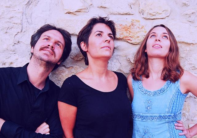 de d à g Henri Maquet, Audrey Peinado et Emmanuelle Aymès (photo XDR)