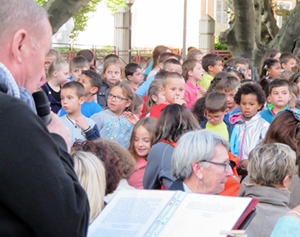 Acte fondateur et succès public, les Cantejadas de Digne en 2016 ont assuré le renouveau de l'animation scolaire en langue occitane dans les Alpes-de-Haute-Provence (photo MN)