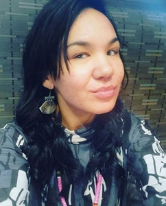 La jeune artiste Inuit avait 26 ans (photo compte FB DR)