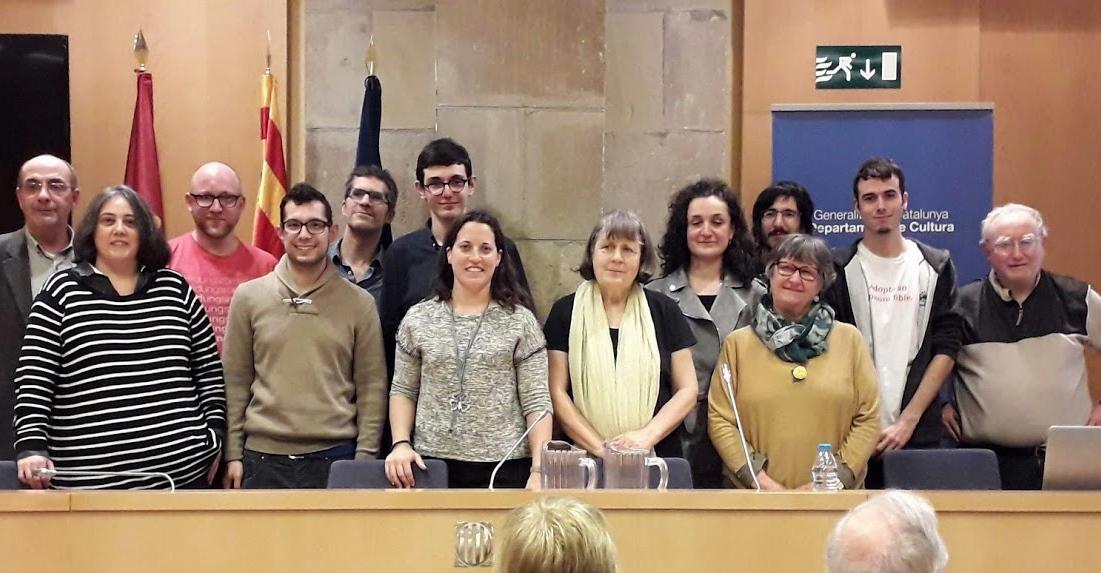 Chaque hiver à Barcelona, et soutenu par la Generalitat, le Centre Fraternel Occitano-Catalan organise sa Dictada, 70 personnes y ont participé (photo CAOC DR)