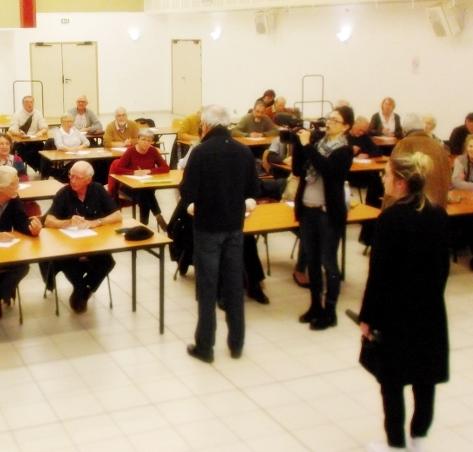 Au moment du tournage avec France 3 Provence (photo IEO 83 DR)