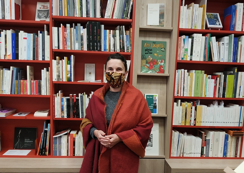 Magali Urroz vous attend à Limoges, et il y a de quoi lire, et de quoi parler à la Librairie de l'IEO Lemosin (photo XDR)