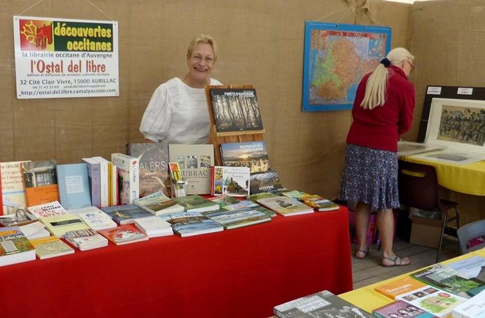 Caterina Liethoudt anime cette librairie qui fut une maison d'édition, à l'histoire quadragénaire (photo Manuel Rispal DR)