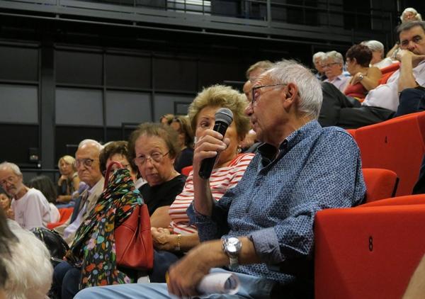Vue partielle du public au congrès du Forum d'Oc d'octrobre 2019 à La Seyne-sur-Mer (83)