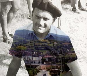 Joan Bodon dans les années 1960, attaché au terroir et pourtant écrivant une œuvre universelle (photo XDR)