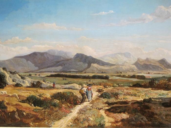 Les Collines d'Allauch, de Paul Guiguou, Musée des Beaux Arts de Marseille DR, la campagne marseillaise vue comme l'aurait vue le peintre Valère Bernard