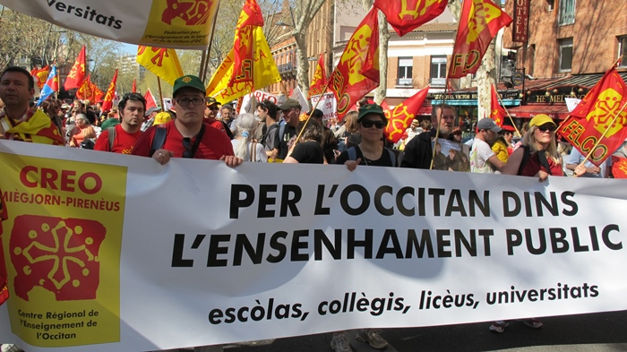 Les Centres Régionaux d'Enseignement d'Occitan sont les fédérations régionales qui constituent la Felco, à l'exception provençale de l'Association pour l'Enseignement de la Langue d'Oc et de l'Association des Professeurs de Langues Régionales de l'Académie de Nice(photo MN)