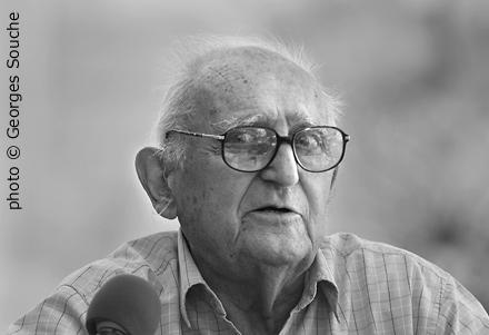 Robert Lafont dans les années 2000 (photo Georges Souche DR)
