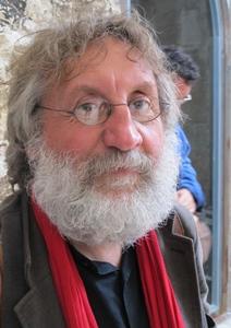 """Miquèu Montanaro : """"ce mouvement d'artistes et de techniciens du spectacle ne se pose pas """"contre"""", mais """"pour"""", les droits sociaux et pour la réouverture des théâtres""""  (photo MN)"""