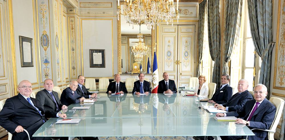 Le Conseil Constitutionnel à l'œuvre (photo CC DR)