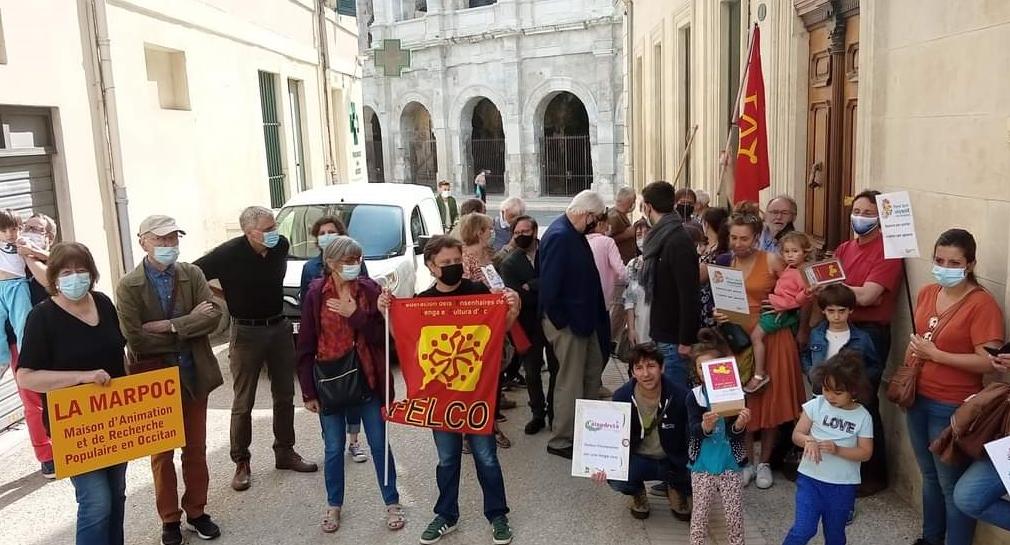 Et à Nîmes (phot XDR)