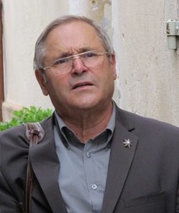 Guy Revest, le président du Forum d'Oc (photo MN)
