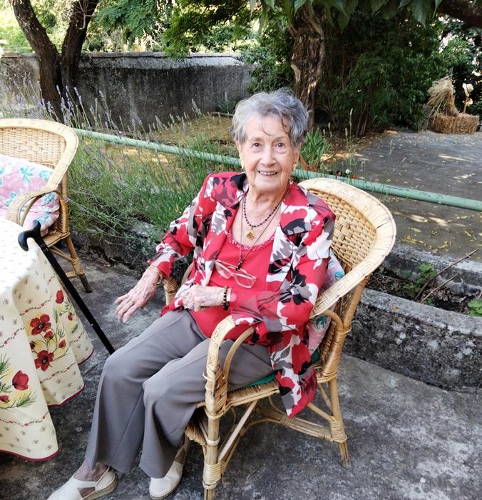 Luciana Pòrte-Marrou il y a quelques jours (photo IEO 84)