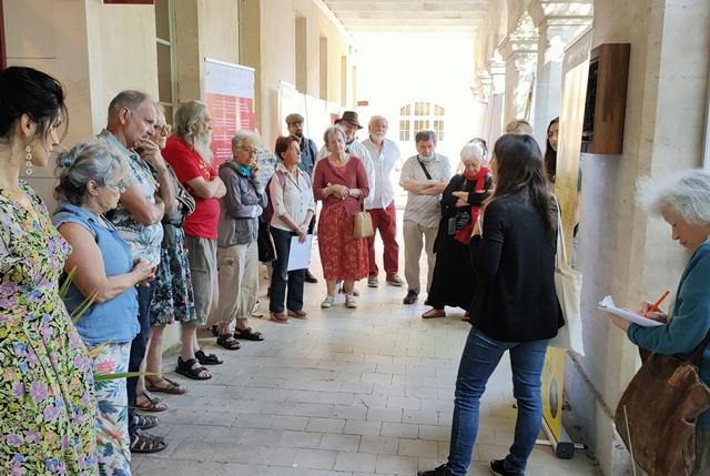 Le Cirdoc avait proposé une exposition sur la botanique occitane et son histoire (photo MN)