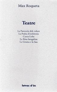 Lo libre de la setmana  - Teatre - Max Roqueta