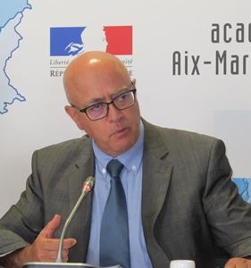 La brochure d'incitation à l'enseignement du provençal sera distribuée prochainement dans toute l'Académie déclare à France 3 Bernard Beignier (photo MN)