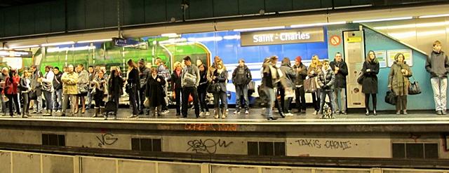 Marseille St-Charles : gare de trains, métro, bientôt gare souterraine et 2,5 mds€ pour un pôle intermétropolitain (photo MN)