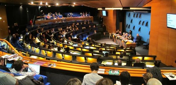 Le samedi 30 novembre après midi, MPM met son hémicycle à disposition pour un colloque fondateur et oeucuménique (photo MN)