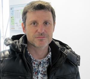 """Didier Maurel : """"Pouvoir créer des outils d'animation directement en Provence"""" (photo MN)"""
