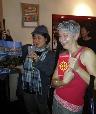 """Manue :""""e escriu un diccionari occitan-japonès!"""" (photo XDR)"""