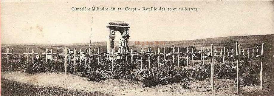 Après les combats du 20 août 1914.