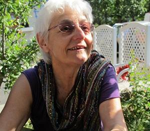 Magali Bizot. On l'imagine mal en dictateur, elle réserve ce rôle au cinéma (photo MN)