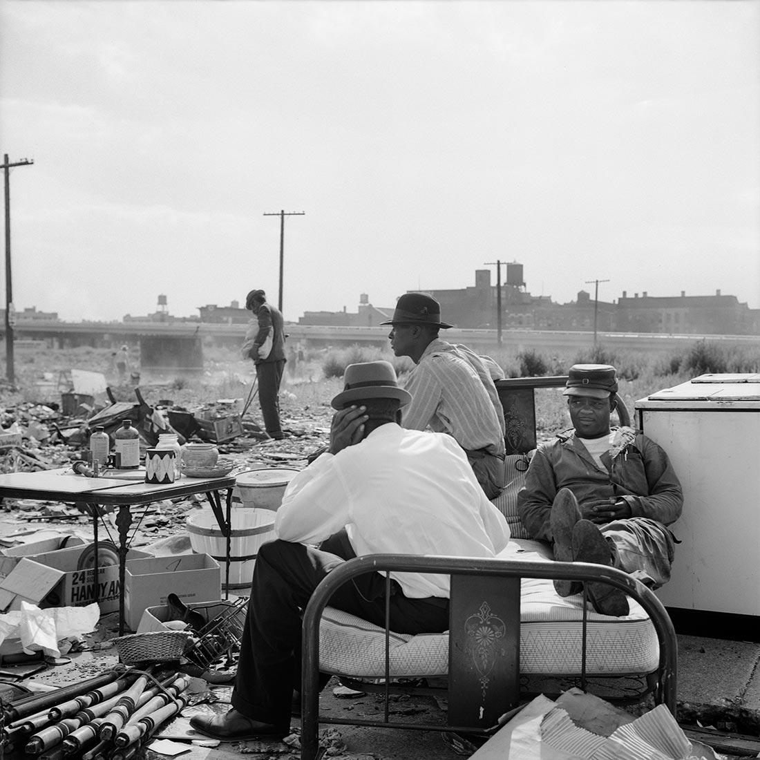 Banlieue de Chicago, années 1960 (VM collec. Maloof DR)