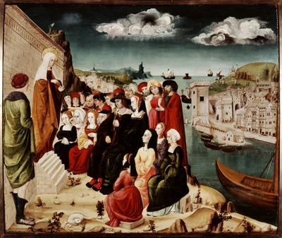 Marie-Madeleine, pêcheresse repentie en prêche à Marseille (Musée du Vieux Marseille DR)
