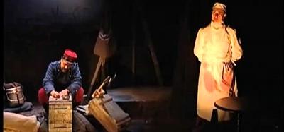 La légende noire du soldat O, d'André Neyton, un rare moment de théâtre et de réflexion (photo XDR)