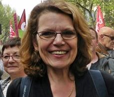 Marie-Christine Vergiat mène la liste Front de Gauche dans le Sud-Est (photo XDR)