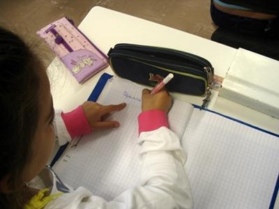 Un élève sur trente dans les Bouches-du-Rhône bénéficie d'un enseignement dans la langue de sa région. Trop peu pour quo'n puisse parler de droit, et pourtant bien plus que dans tous les autres départements de l'Académie d'Aix-Marseille (photo MN)