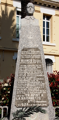 Désiré Bianco, lui, est mort au combat à 13 ans, dans les Dardannelles (photo XDR)
