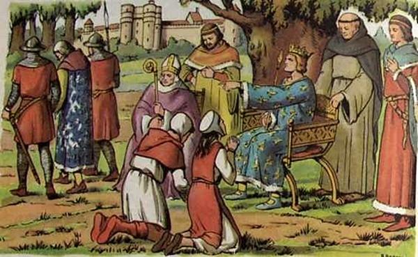 Tel que l'ont présenté ses thuriféraires dès le Moyen Âge, longtemps suivis par l'Ecole républicaine...et certains maires encore aujourd'hui. La réalité a été bien moins idyllique en Languedoc et Provence (XDR)