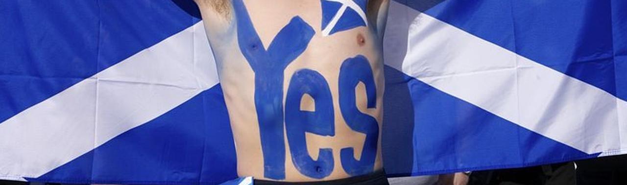 """Le """"oui"""" à l'indépendance a dépassé le """"non"""" dans les sondages d'opinion début septembre (photo XDR)"""