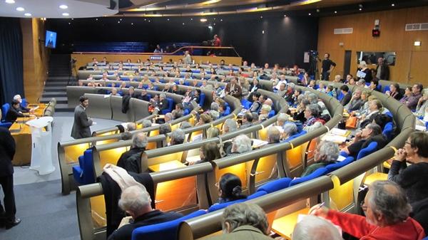 Tout est parti du succès d'un colloque d'Anem Òc, qui a réuni 300 personnes à Marseille en novembre 2013. Un succès qui devrait durer (photo MN)