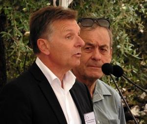 Michel Gros, le président du Syndicat Mixte de Préfiguration, a du essuyer les ukases d'un groupe particulièrement agressif avant d'identifier les acteurs du territoire capables de travailler ensemble pour un projet en provençal (photo XDR)
