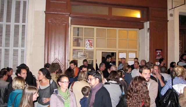 A La Plaine, ce vendredi 24 octobre 2014 (photo MN)