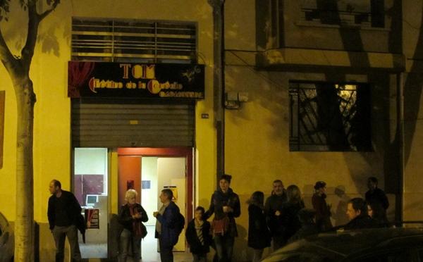 Le public occitanophone a t'il trouvé...et presque perdu la salle qui lui permettrait d'organiser de nouveaux événements ? (photo MN)
